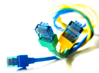 AAColorful Computer Wires
