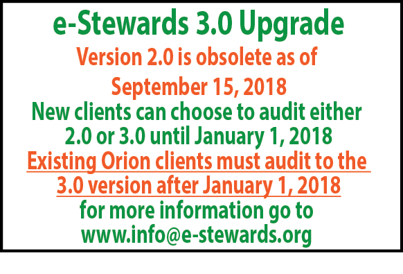 Articles e-Stewards Upgrade Website